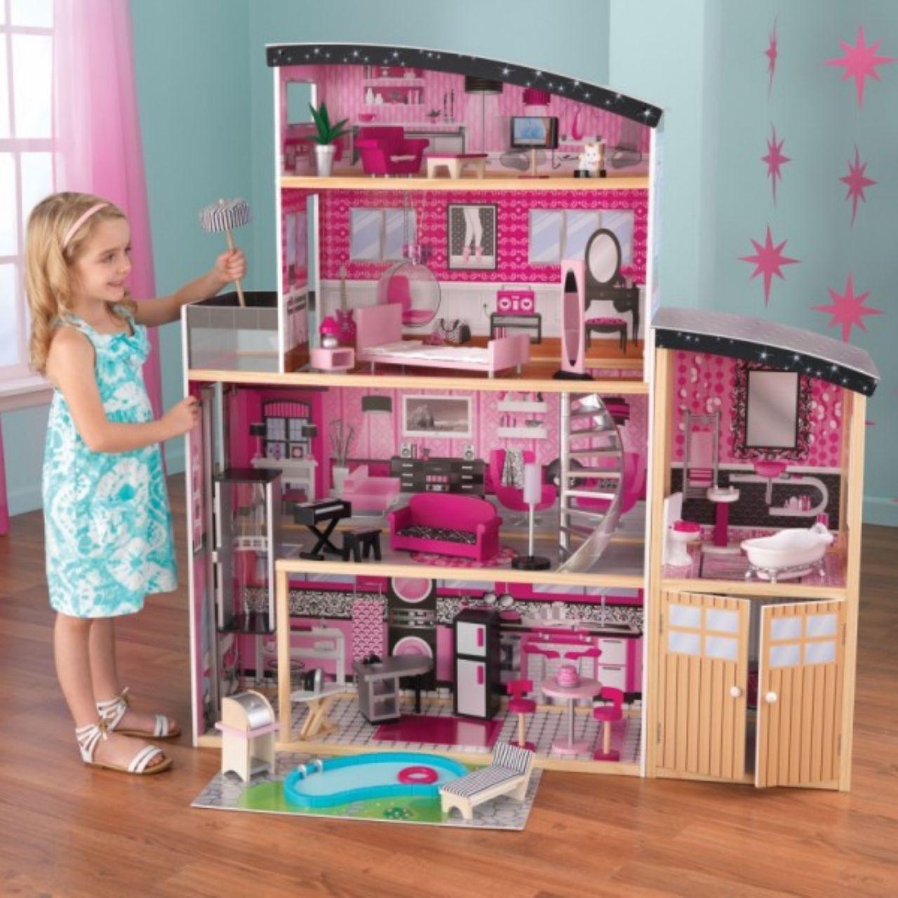Кукольный домик с мебелью, KidKraft 65826