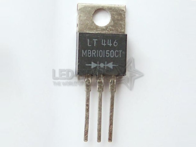MBR10150CT  10A; 150V; DIODES SCHOTTKY  TO-220AC