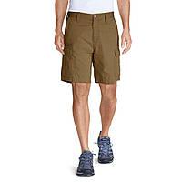 Шорты Eddie Bauer Mens Versatrex 11 Cargo Shorts Solid AGED BRASS 32 Коричневые 8040ADBR-32, КОД: 275689