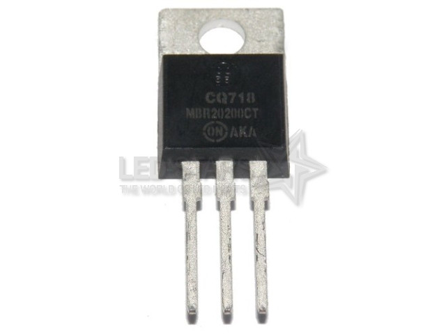 MBR20200CT  20A; 200V; DIODES SCHOTTKY  TO-220AC