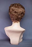 Натуральный парик №1,цвет темно-русый