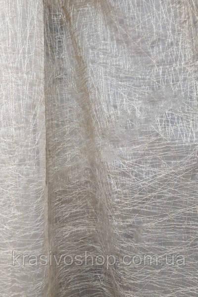Ткань для гардин и тюля Паутинка кристалон,