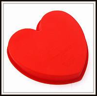Силиконовая форма Сердце  большое 23.5*20.5*3.5
