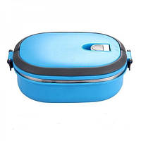 Термоконтейнер для еды 0,9 л голубой