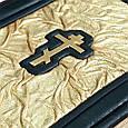 """Біблія в шкіряній палітурці """"Золота"""" міні, фото 4"""