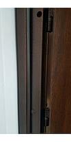 Уличные  входные двери Редфорт Арка винорит со стеклом и ковкой, фото 2