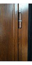 Уличные  входные двери Редфорт Арка винорит со стеклом и ковкой, фото 3