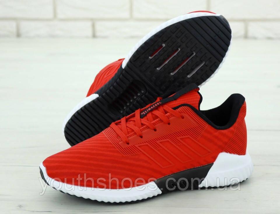 """Кроссовки мужские Adidas Climacool """"Красные"""" р. 41-45, фото 1"""