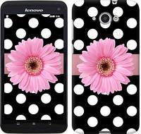 Чехол EndorPhone на Lenovo S930 Горошек 2 (2147u-236)