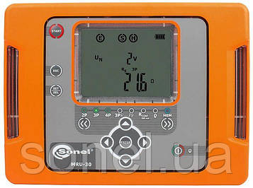 Вимірювач параметрів заземлюючих пристроїв MRU-30UA законодавчо регульований