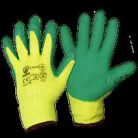 Перчатки с покрытием из вспененного латекса облегченные