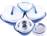 Уценка! Набор термоконтейнеров для хранения (синий)