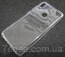 Чехол для Huawei Y7 (2019) / Huawei Y7 Prime (2019) силиконовый прозрачный