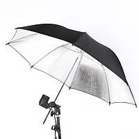 Зонт 83 см серебристый