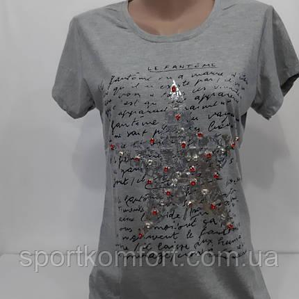 Турецкая футболка для  стильных девушек., фото 2