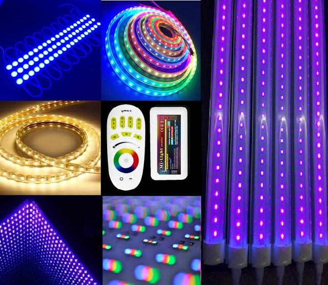 Светодиодная продукция (лента, модули, элементы LED управления, профиля)