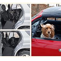 Автогамак сверхпрочный,автомобильный чехол для перевозки собак, Трансформер 4в1 с бортами Drive Dog Dabl