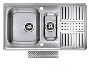 Кухонная мойка Alveus Pixel 40 (Нержавейка) (с доставкой), фото 2