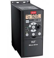 Частотный преобразователь Danfoss VLT Micro Drive FC51 2,2 кВт 3 ф 380 В
