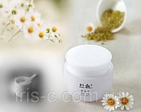 Крем разглаживание, питание и эффект маскировки, HANYUL(Amore Pacific) White Chrysanthemum SPF35 PA++ 50мл