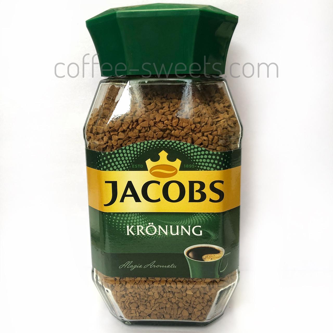 Кофе растворимый Jacobs kronung 200g