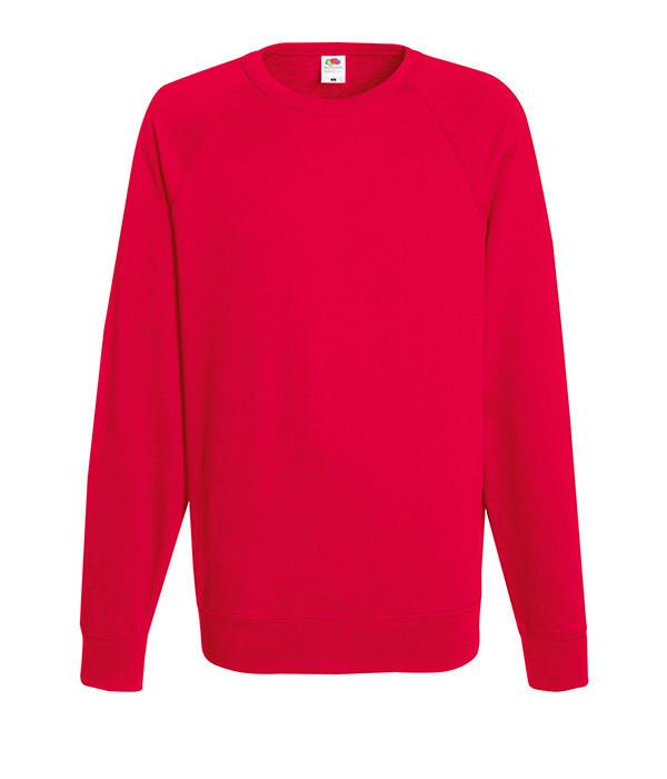 Мужской свитшот XL, 40 Красный