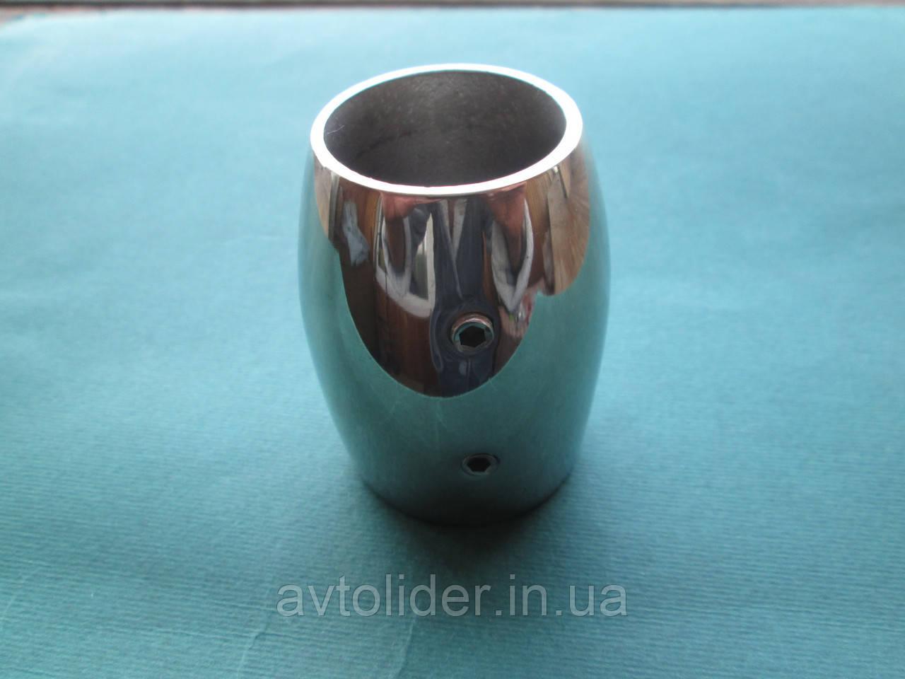 Нержавеющий стакан-бочонок для релинговой стойки