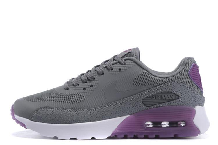 e2551ef9 Женские кроссовки Nike Air Max 90 Hyperlite Grey Purple размер 36 Серый  UaDrop114732-36,