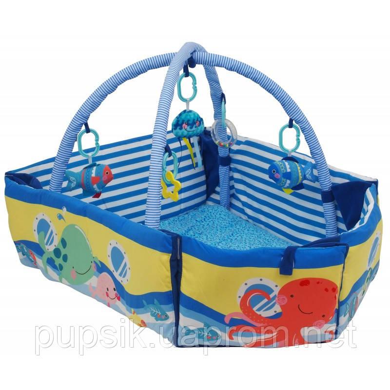 Коврик Baby Mix TK/3462C Лодка с бортиками