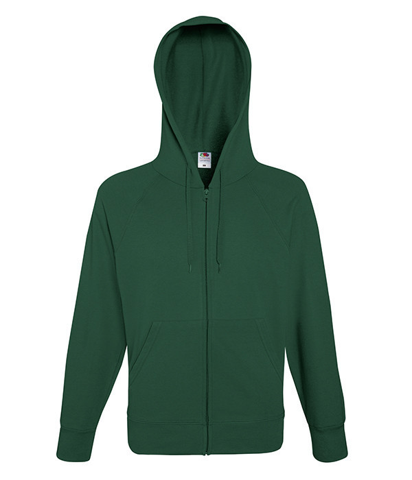 Мужская толстовка на молнии M, 38 Темно-Зеленый