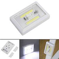 Светодиодный ультра яркий LED ночник выключатель на батарейках