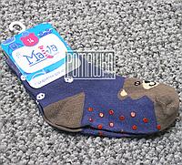 Детские плотные 13 см 1-3 (14) нескользящие антискользящие противоскользящие носки для мальчика 4692 Синий