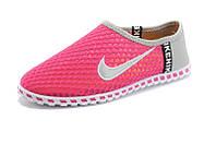 Кроссовки летние Nike Free розовые, фото 1
