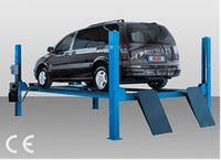 Четырехстоечный электрогидравлический подъемник для легковых автомобилей.  AGM  (Италия)