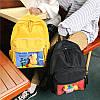 Нейлоновый рюкзак с прозрачным карманом, фото 8