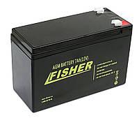 Аккумулятор для эхолота Fisher 7Ah 12V AGM