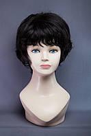 Натуральный парик №3, цвет черный