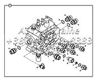 Погрузочный клапан, блок и переходник - с рычагом управления Е2-1-1-ОР1