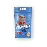 Супер Кет Super Cat Стандарт древесный наполнитель для кошачьего туалета 3 кг