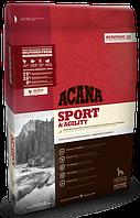 Корм Акана Спорт & Аджилити Acana Sport & Agility для активних собак всіх порід 17 кг