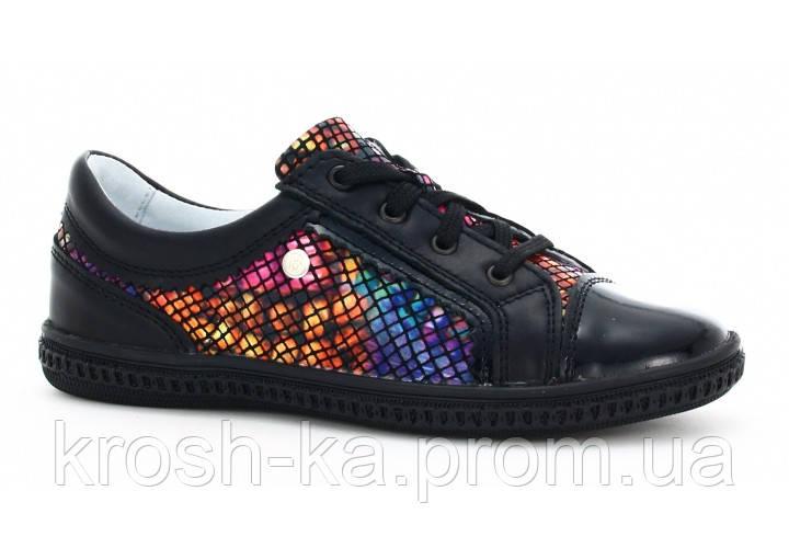 Туфли для девочки (27,32) р (Бартек)Bartek Польша чёрные 95524-SZ-1HT