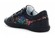 Туфли для девочки (27,32) р (Бартек)Bartek Польша чёрные 95524-SZ-1HT, фото 4