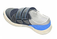 Туфли для мальчика (33,38) р (Бартек)Bartek Польша синие 88585-E80, фото 4