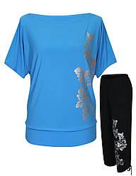 Летний костюм Лоза - туника и капри