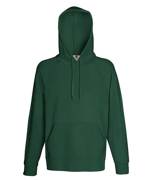 Мужская худи S, 38 Темно-Зеленый