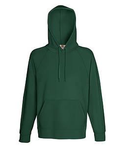 Мужская кофта с капюшоном S, 38 Темно-Зеленый