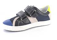 Туфли для мальчика (31,32) р (Бартек)Bartek Польша синие 45432-35V, фото 4