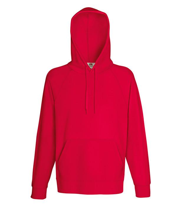 Мужская худи XL, 40 Красный