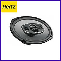 Автоакустика овальная Hertz Uno X 690. Акустика 6х9. Автозвук. Автомобильная акустика Hertz (Овалы)
