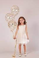 Плаття святкове з фатіном дівчинці 5-10 років